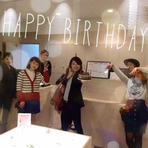 神長さんの誕生日