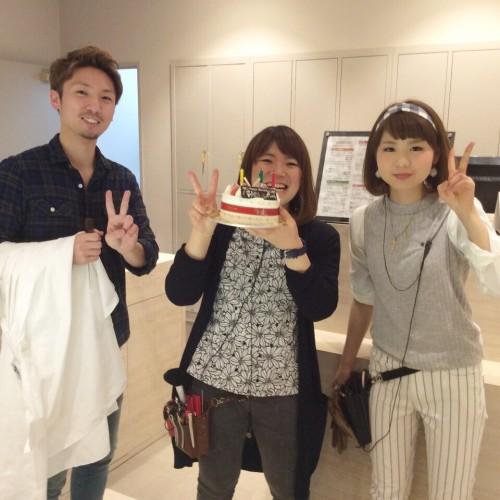 小沼さんの誕生日